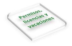 Permisos, licencias y vacaciones