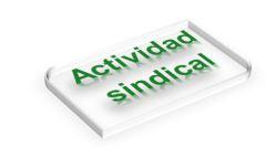 Actividad sindical